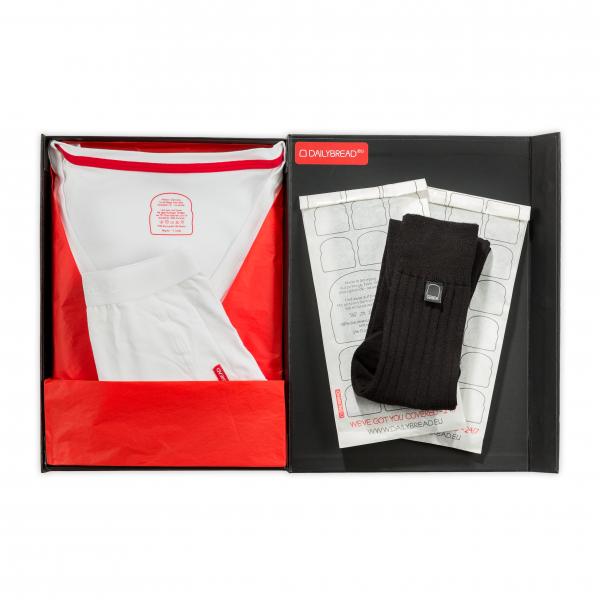 Unterwäsche-Set in Geschenkbox