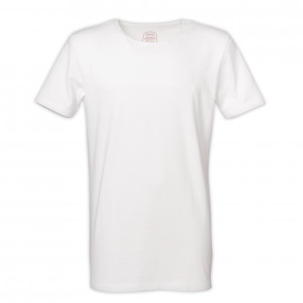 "T-Shirt Rundhals ""White"""